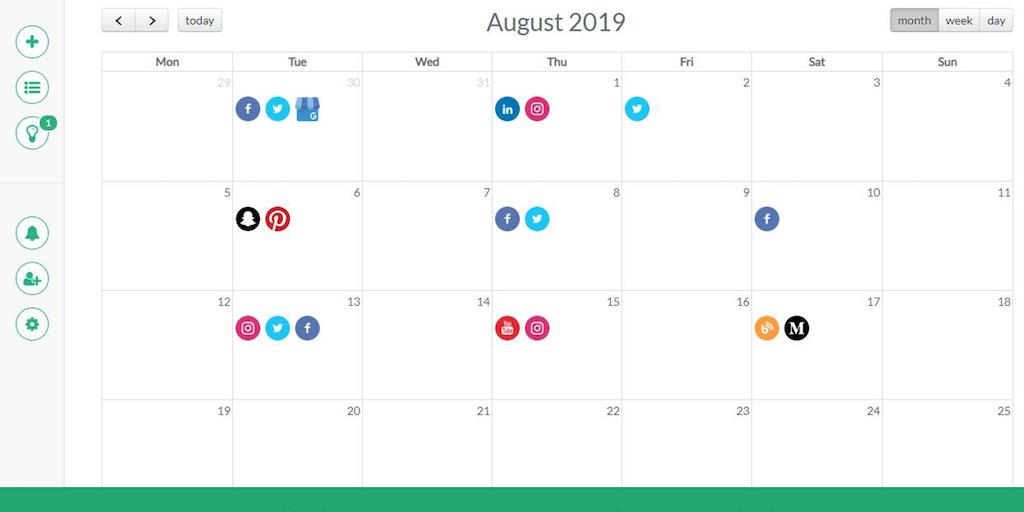 ContentCory - Simple & beautiful social media content calendar | Product Hunt