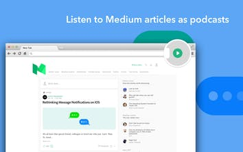 Play (for Medium) - Listen to Medium Stories with a Chrome