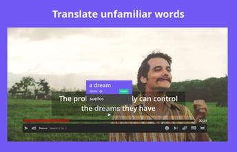 Subtly - Learn English with smart subtitles on movies and TV