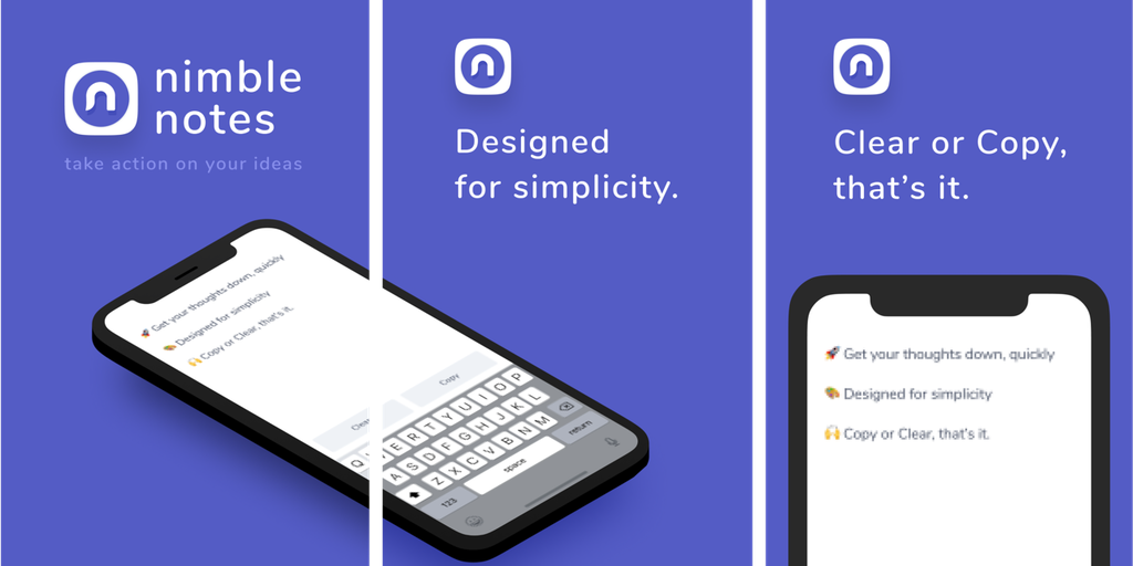 Nimble Notes - The anti-Evernote Fast, dead-simple note-taking | Product Hunt