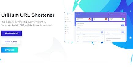 UrlHum - The modern, privacy-aware URL shortener built with
