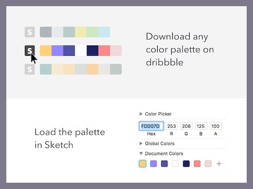 Dribbble color generator product hunt featured 4 months ago ccuart Image collections