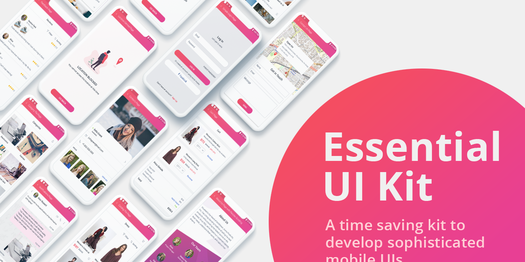 Essential UI Kit for Xamarin.Forms - Free and beautiful XAML pages for XamarinForms apps | Product Hunt