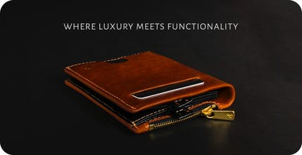 18a78835f9de Suave - Luxury wallet that can store your cash