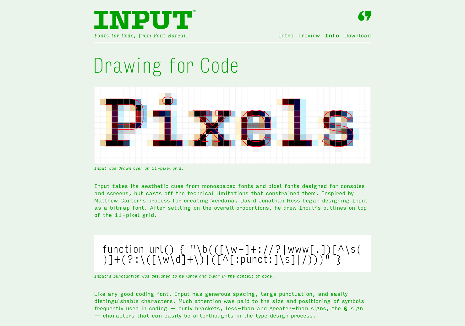 Input - Fonts for Code | Product Hunt