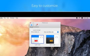 Chatty - A beautiful Mac app for Facebook Messenger