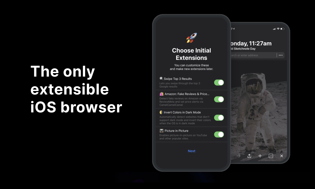 Insight Browser Product Hunt Image