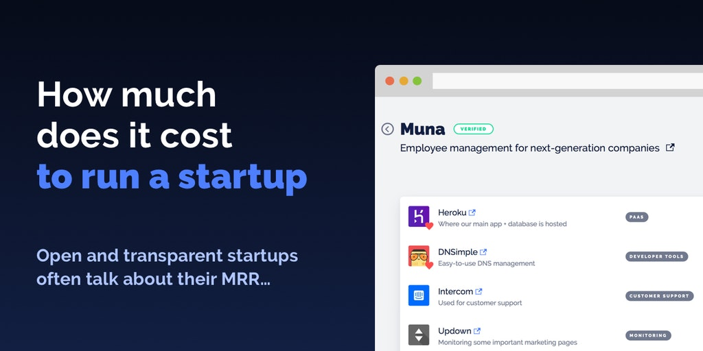 Startup Costs - How much does it cost to run a startup? | Product Hunt
