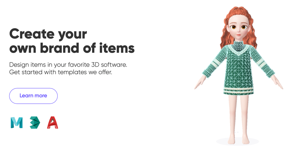 Zepeto Studio Create And Sell Clothes To 140 Million Avatars From Home Product Hunt
