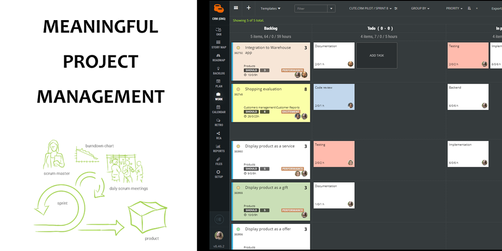 ScrumDesk - Meaningful Scrum Project Management by Agile Coaches | Product Hunt