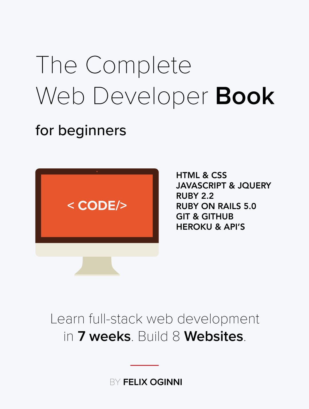 The complete web developer book for beginners product hunt baditri Image collections