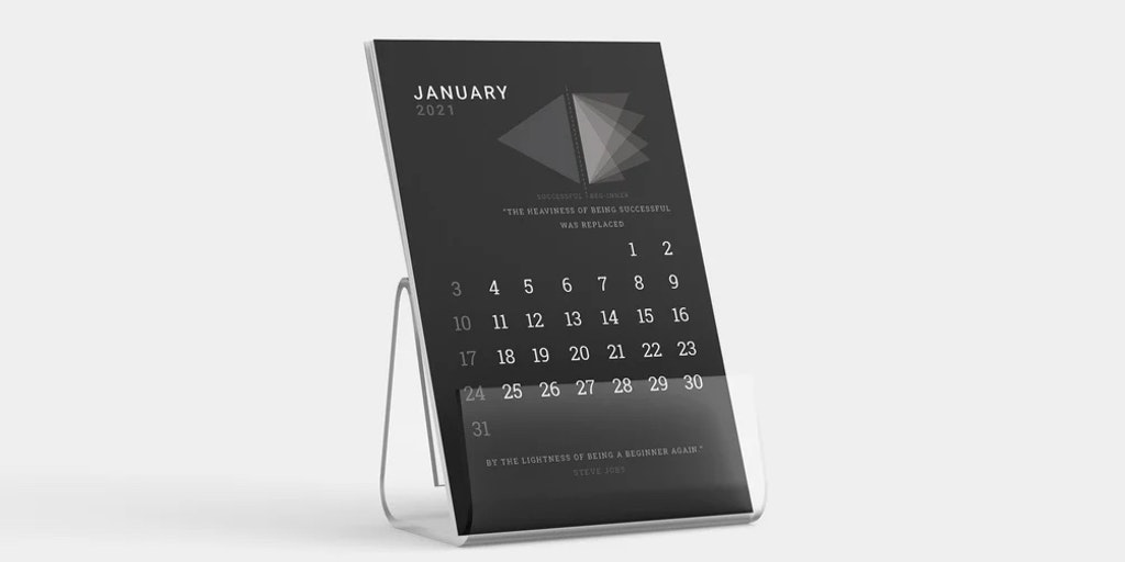 Wisdom to Win - A stylish calendar to boost your productivity in 2021 | Product Hunt