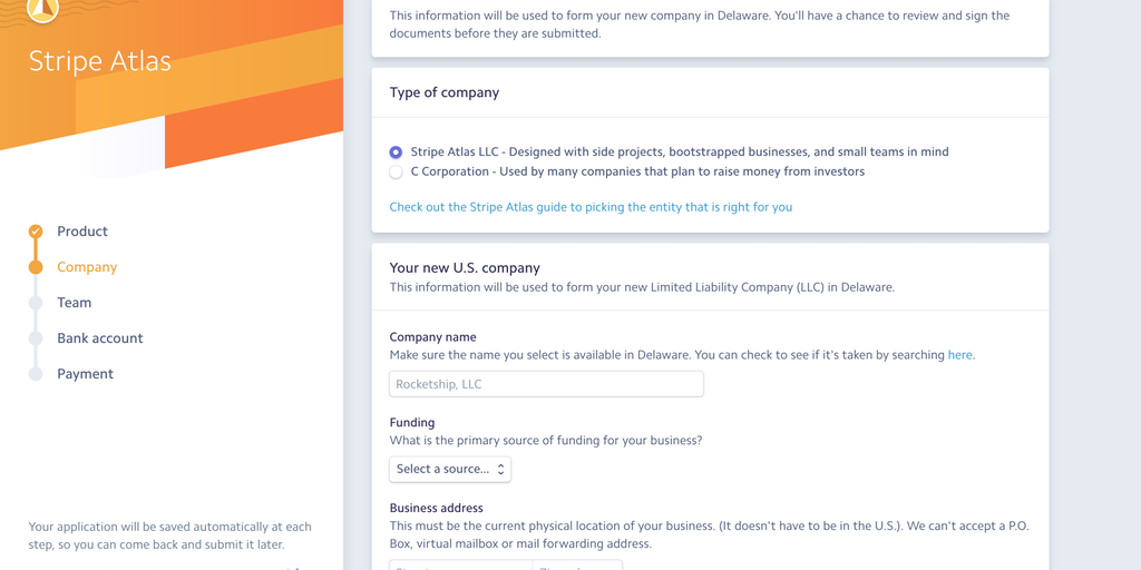 Stripe Atlas for LLCs - Founders can now use Stripe Atlas to form an
