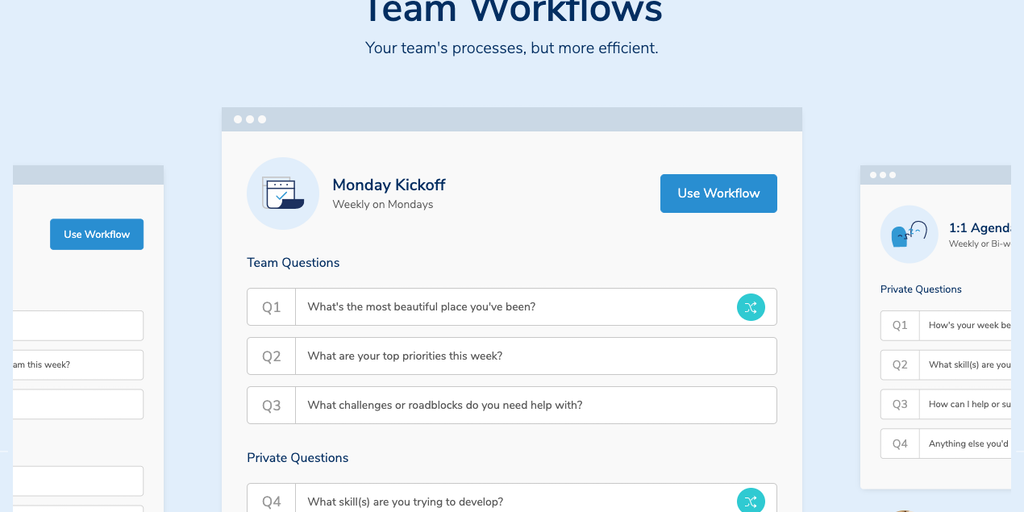 Workflows by Humble Dot - A free team communication tool that eliminates meetings | Product Hunt