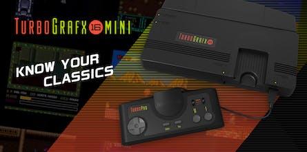 TurboGrafx-16 Mini - A shrunken down retro gaming console
