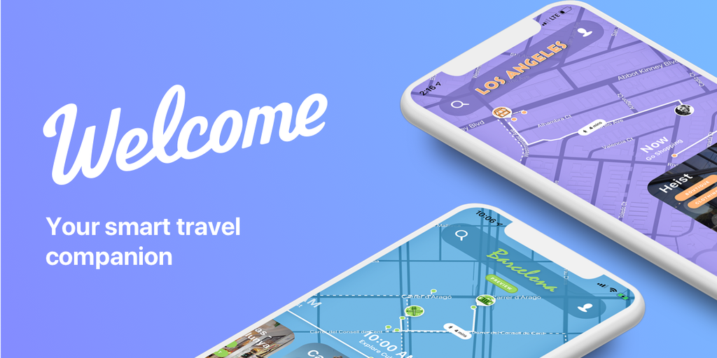 Welcome - A smart travel companion | Product Hunt