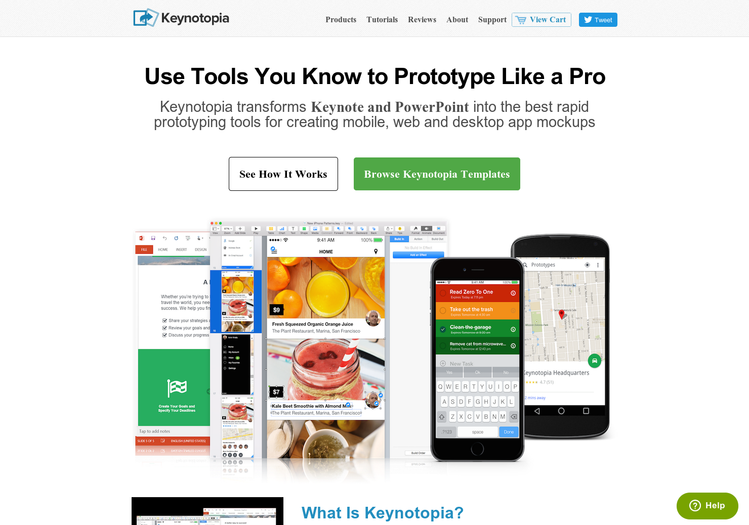 Keynotopia - Prototyping straight into Keynote or Powerpoint | Product