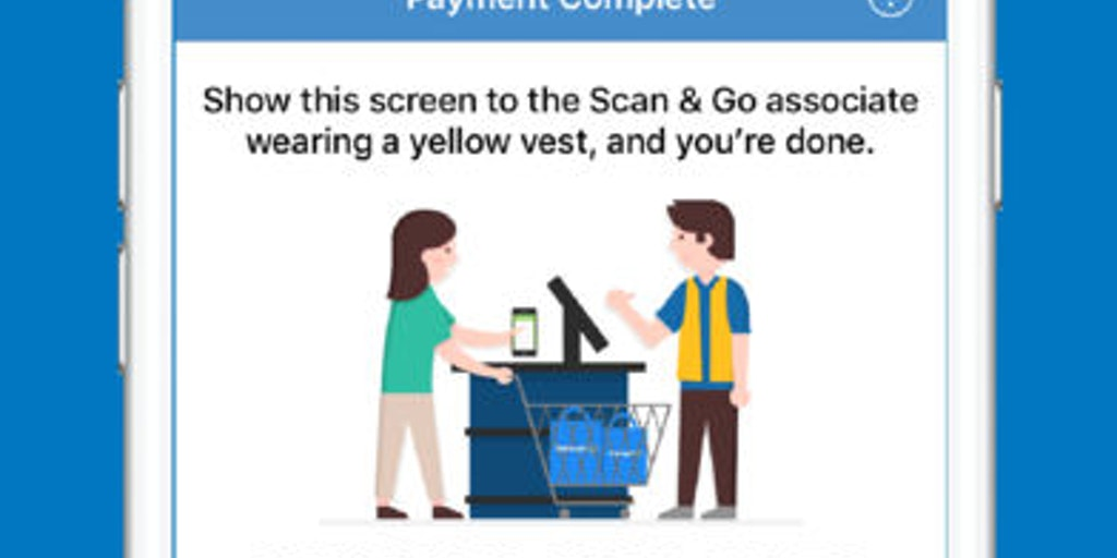 Walmart Scan & Go - Walmart's in-store self checkout app