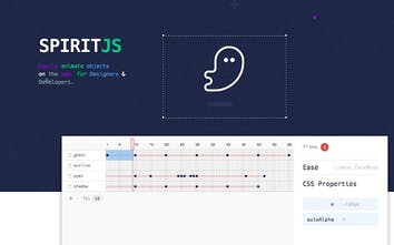 Spirit - The animation tool for the web | Product Hunt