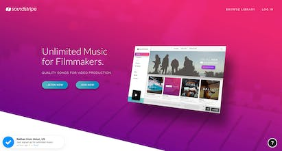 Soundstripe - Unlimited music for video   Product Hunt