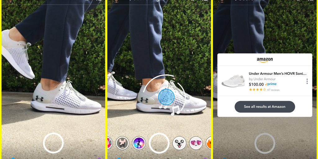 Snap Visual Search - Search for products and buy from Amazon via Snap's camera | Product Hunt