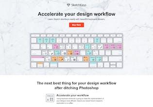 SketchKeys - Learn Sketch shortkeys easily w/ keyboard