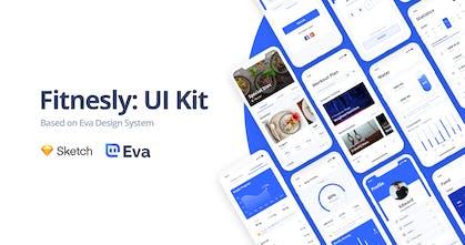 Fitnesly - Fitness UI kit based on Eva Design System