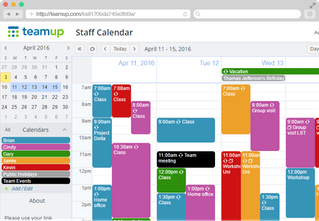 Teamup Calendar   Shared Calendar for Groups | Product Hunt