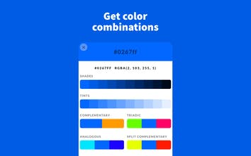 Color by Fardos - A chrome extension to pick, save & create colors