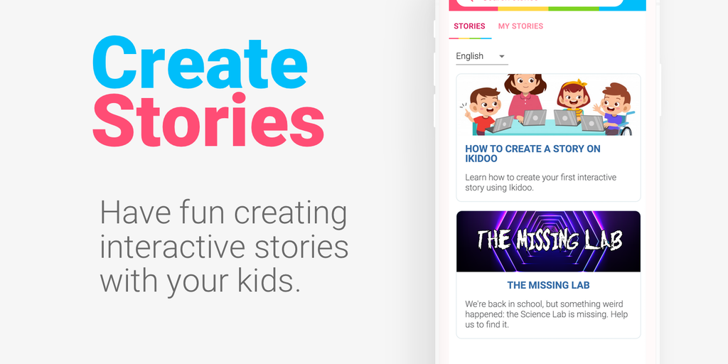 Ikidoo - Create interactive stories with your kids | Product Hunt