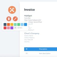 Free Invoice Template Generator - Create a custom