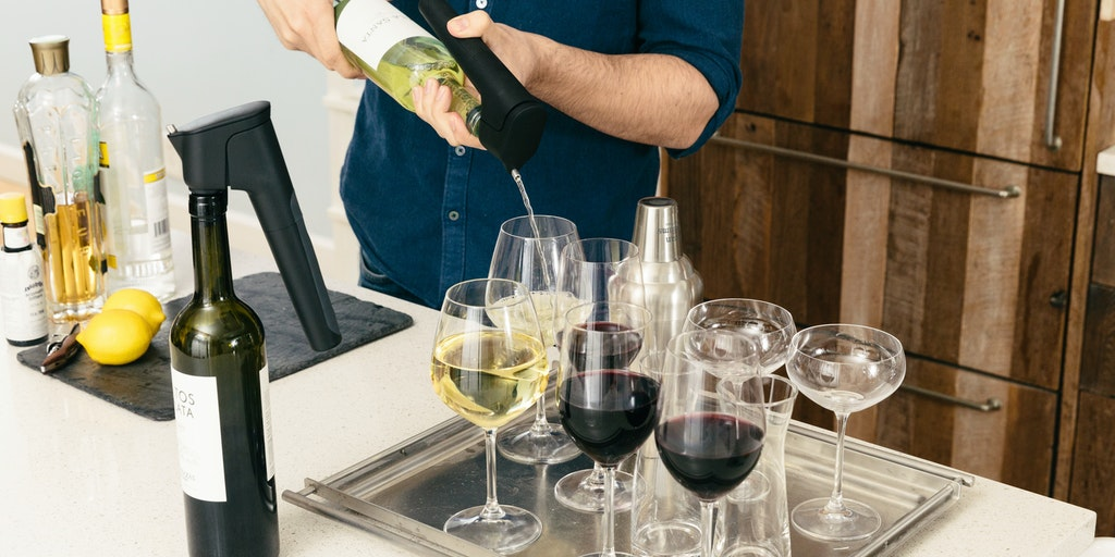 Syphon - Keep wine perfectly fresh weeks after opening the