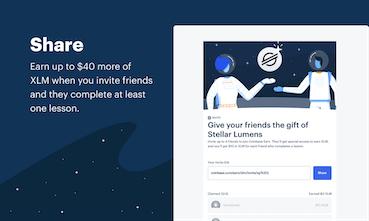 Coinbase Earn (XLM) - Learn Stellar Earn $50 of XLM