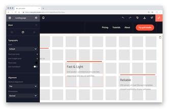 Grid studio (beta) - Build progressive websites with simple
