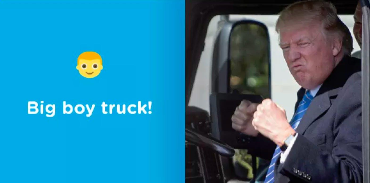 Trump Loves Trucks