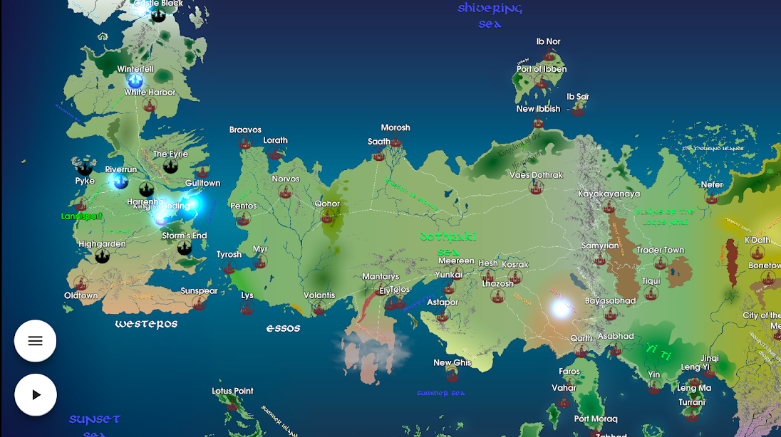 Map For Got An Interactive Game Of Thrones Map To Recap All Got