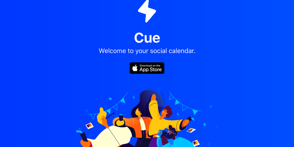 Cue - Welcome to your social calendar | Product Hunt
