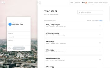 WeTransfer com - The simplest way to send your files