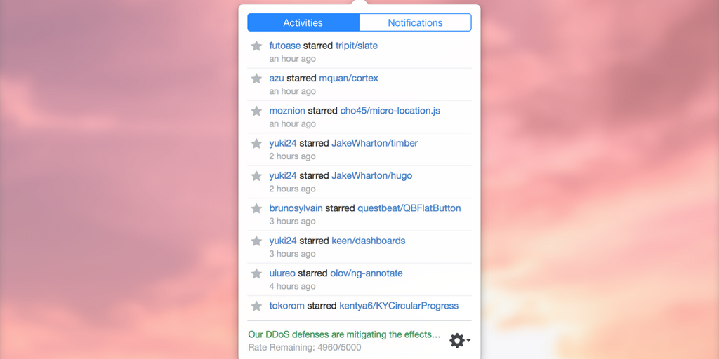 PopHub - GitHub feed reader in your Mac's menu bar | Product Hunt