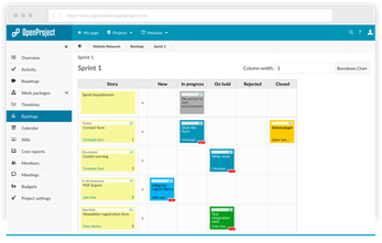 OpenProject - The leading open source project management