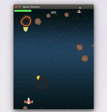 Space Shooter - The classic retro game recreated using