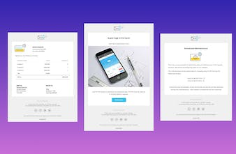SaaS Email Templates - Responsive HTML email templates for
