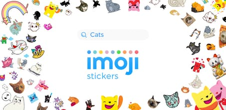 imoji stickers for iMessage - Add life to your iMessage
