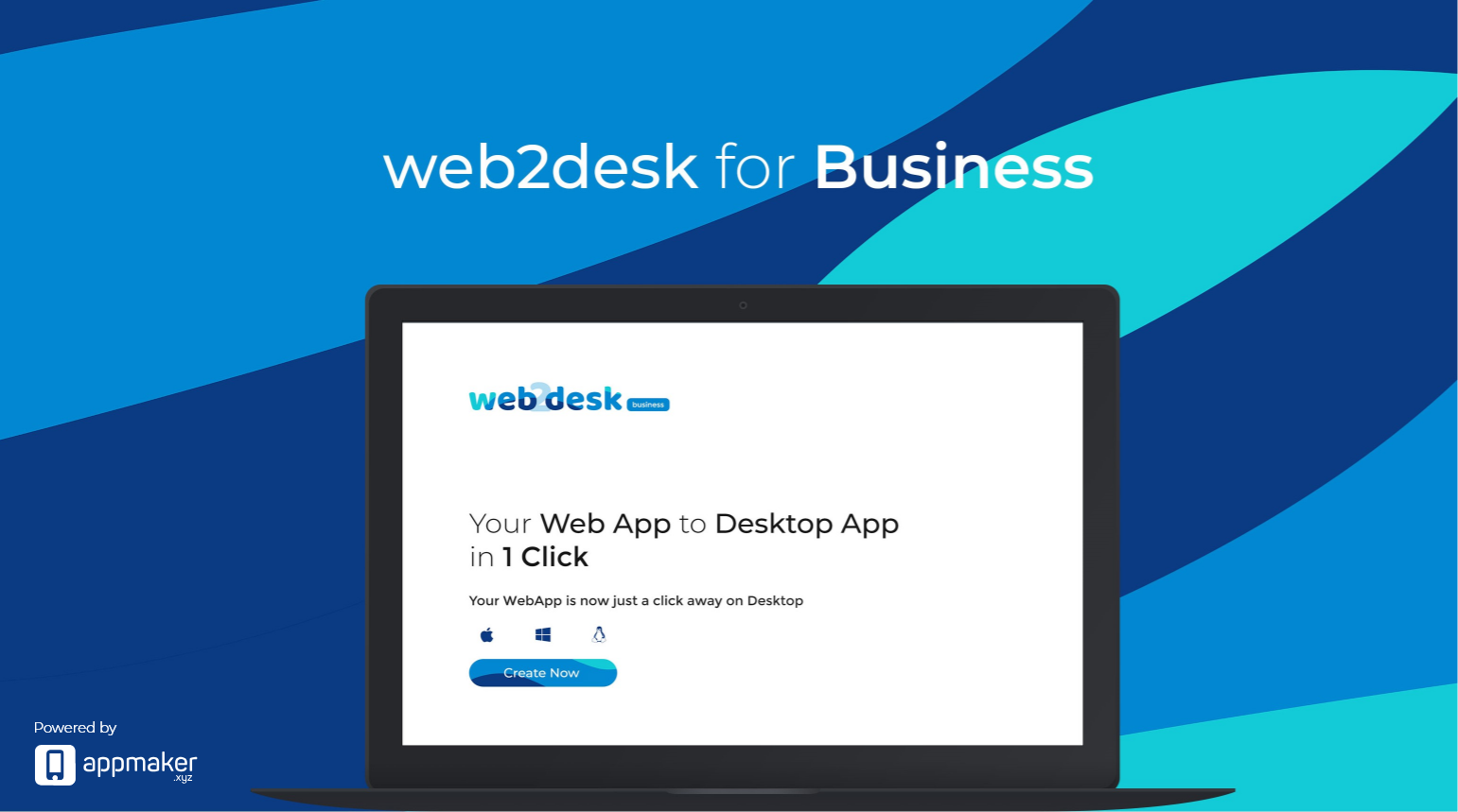 Web2Desk for Business - Convert your web app to desktop app in one click