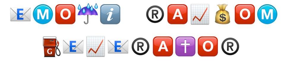 Emoji Ransom Generator - Create text made of emoji
