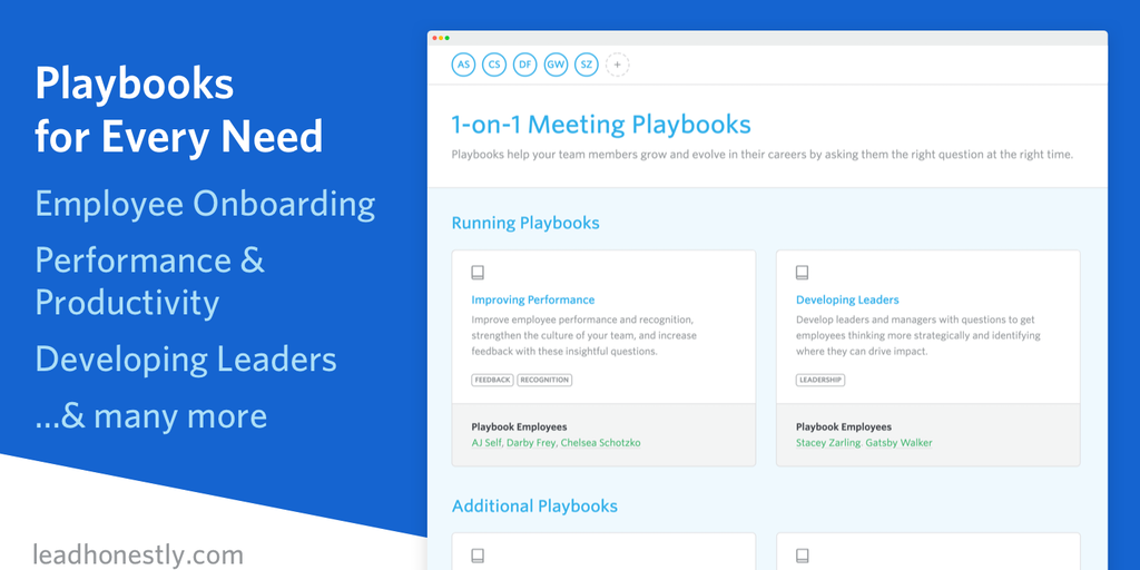 1 On 1 Meeting Playbooks Ask Your Team Relevant And Engaging