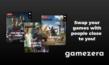 Gamezera - Swap your games with people close to you 🎮 | Product Hunt