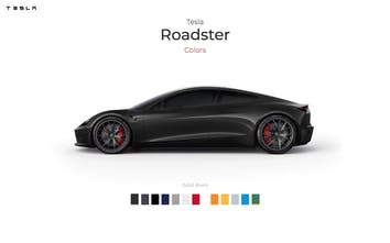 New Tesla Roadster in Colors - How would Tesla's new car