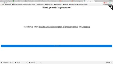 Startup Generator Generate Potential Startup Ideas With A