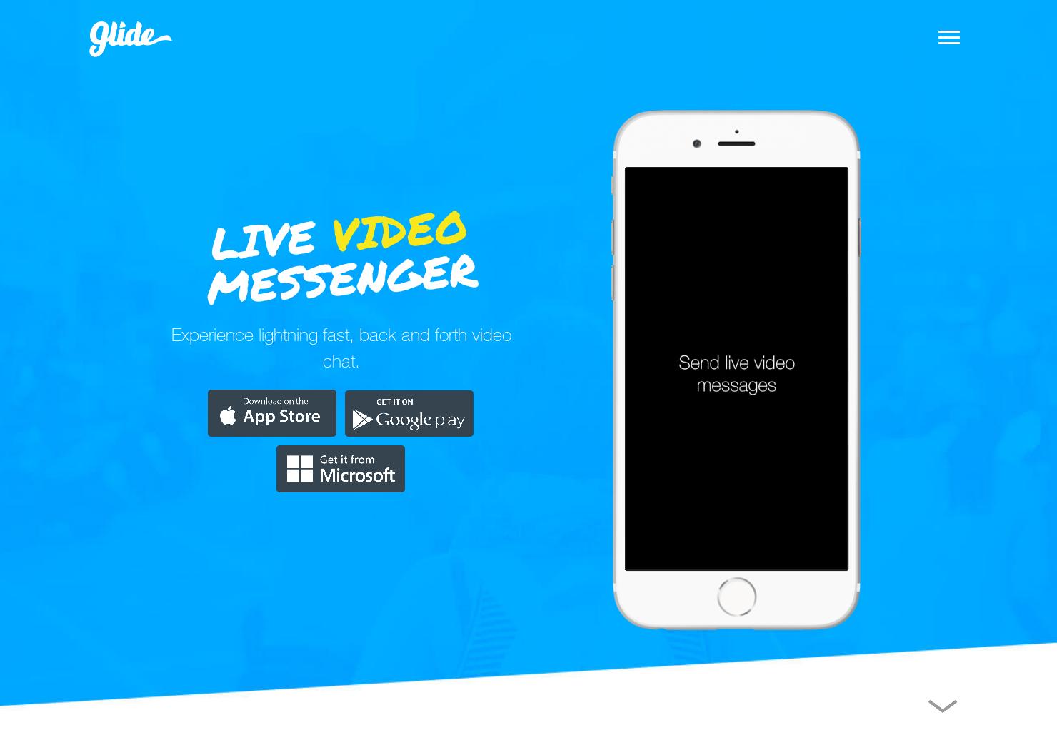 Glide 3 - Lightning fast live video messaging | Product Hunt